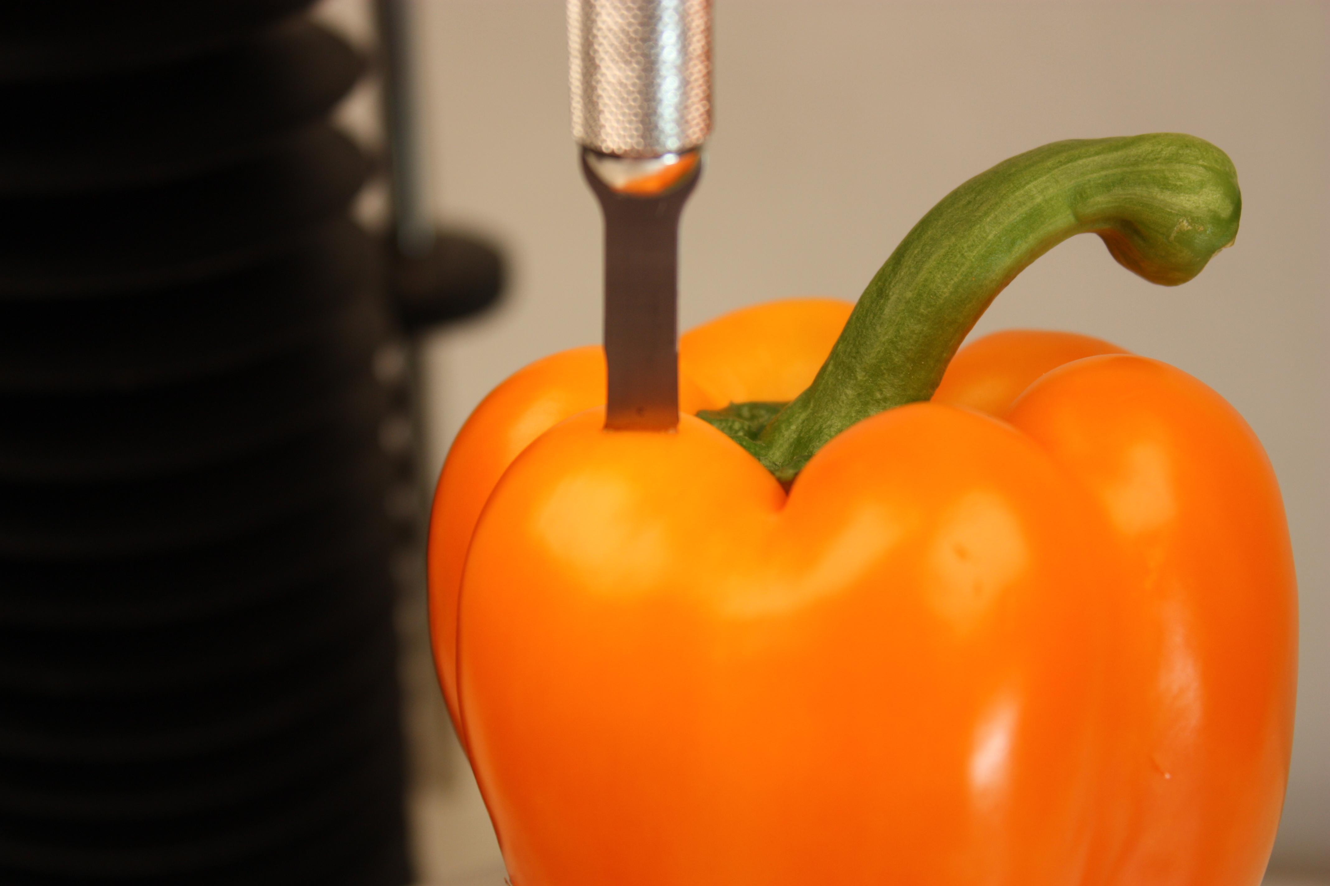 Testing pepper