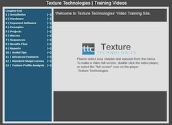 screenshot of texture channel